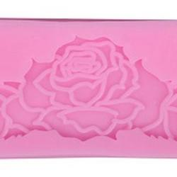 Молд для шоколада и мастики силиконовый Бордюр Роза 8х3 см, 1