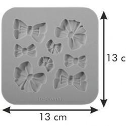 Молд силиконовый Бантики Delicia Deco 4