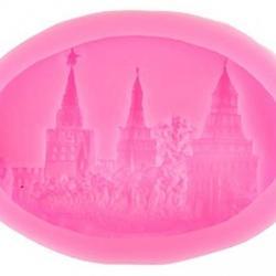 Молд для шоколада и мастики силиконовый Кремль 6х9х1,2 см. 1