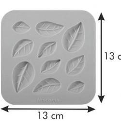Молд для шоколада и мастики силиконовый Листочки Delicia Deco, 3