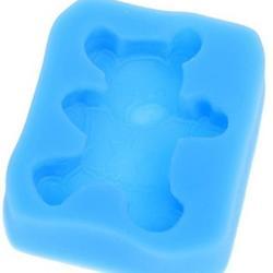 Молд для шоколада и мастики силиконовый Мишка 5х4,5 см, 1