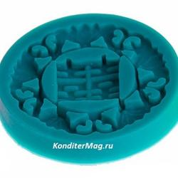Молд силиконовый Орнамент 6 см. 1