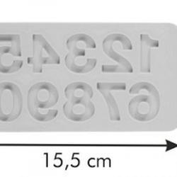 Молд для шоколада и мастики силиконовый Цифры Delicia Deco 2
