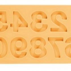 Молд для шоколада и мастики силиконовый Цифры Delicia Deco 1