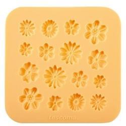 Молд силиконовый Цветочки Delicia Deco 1