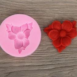 Молд силиконовый Цветок  7,5 см. 1