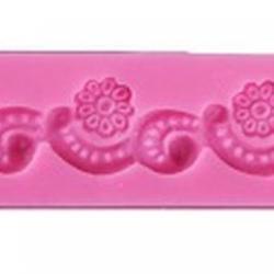 Молд для шоколада и мастики силиконовый Завиток 17х3,5 см, 1