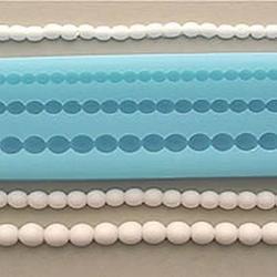 Молд силиконовый Жемчужины 5,7,9 см. 29х4 см. 2