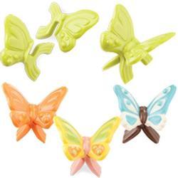 Форма для конфет Бабочки пластик Вилтон 1