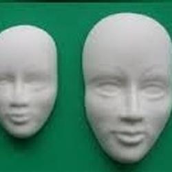 Молд для шоколада/мастики силиконовый 2 Лица 3D 4х6 см., ш5561 2