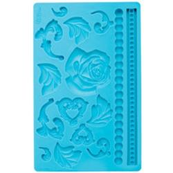 Молд для шоколада/мастики силиконовый Барокко Wilton,  планшет 13х20 см., 1