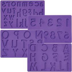 Молд силиконовый Буквы и Цифры Вилтон 1