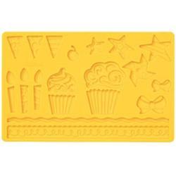 Молд для шоколада/мастики силиконовый Детский Wilton, планшет 13х20 см., 1