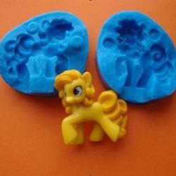 Молд для шоколада/мастики силиконовый Литл Пони 3D двойной, 1