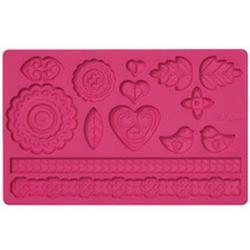 Молд для шоколада/мастики силиконовый Народный узор Wilton, планшет 13х20 см., 1