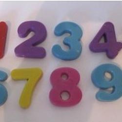 Молд для шоколада/мастики силиконовый Цифры 11х6,3 см., 1