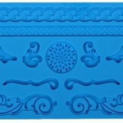 Молд для шоколада/мастики силиконовый Узор, планшет 13х20 см., 1