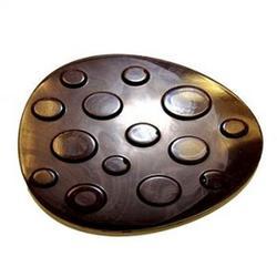 Форма для шоколада Яйцо с узором 6,5х9 см. пластик 1