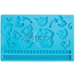 Молд силиконовый планшет  Барокко 20х13 см. 1