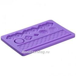 Молд силиконовый планшет Геометрия 2