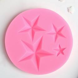 Молд силиконовый Звезда 8x8 см. 1