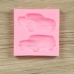 Молд силиконовый Авто 2 вида 6,5х6,5 см. 1