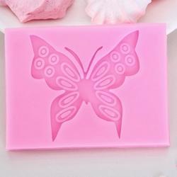 Молд силиконовый Бабочка 8,4х6,2 см. 1