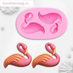 Молд силиконовый Фламинго 7,5х4,5 см. 1
