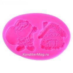 Молд силиконовый Мешок с подарками 7.5х11 см. 2