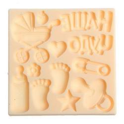 Молд силиконовый Наше чудо 8х8 см. 1