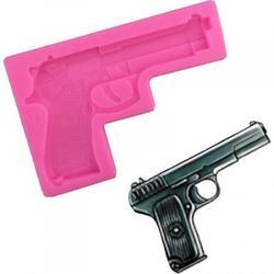 Молд силиконовый Пистолет 11х7,5 см. 1