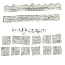 Молд силиконовый Ручная работа 14х10 см. 1