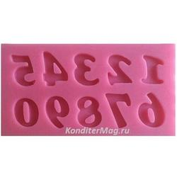 Молд силиконовый Цифры мини 6х3 см. 1