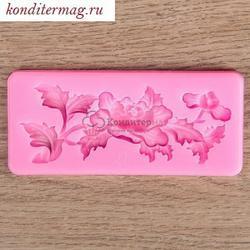 Молд силиконовый Цветение 10х4,5 см. 1