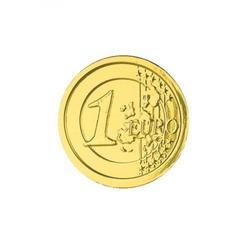 Монета шоколадная 1 Евро 6 г. Монетный Двор 50 шт. банка 1