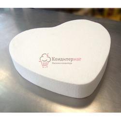 Форма муляжная для торта 30х7 см. Сердце 1