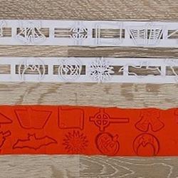 Выемка-штамп для бордюров торта Хэллоуин 2 шт. 3