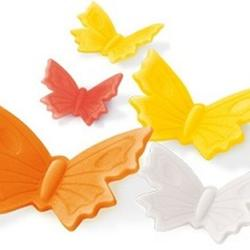 Набор 3 плунжера для мастики/марципана Бабочки Delicia Deco, 3