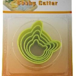 Формочка для печенья Кошка 5 шт. пластик 1