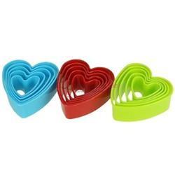 Формочка для печенья Сердца высокие 5 шт. пластик 1