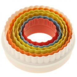 Формочка для печенья Волна 5 шт. пластик 1