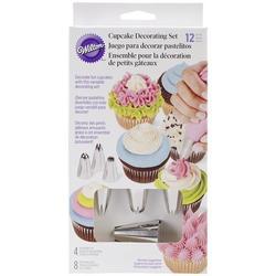 Набор для украшения кексов 12 предметов Вилтон 1