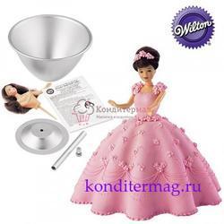 Форма для выпечки торта Принцесса набор Вилтон 1