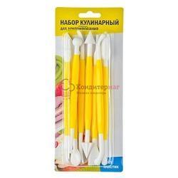 Набор кондитерских инструментов 8 шт. пластик 2