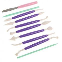Набор кондитерских инструментов 10 шт. пластик 1