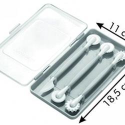 Набор кондитерских инструментов 3 шт. пластик Tescoma 4