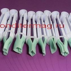 Набор щипцов для мастики и марципана Гладкие большие 10 шт. 1
