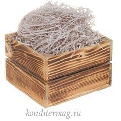 Наполнитель для пряников серый мягкий 50 г. бумага 1