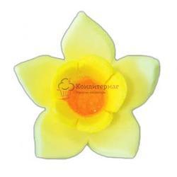 Украшение сахарное Нарцисс желтый 9 шт. 1