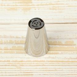 Насадка кондитерская Тюльпан Бутон 3 см. 1